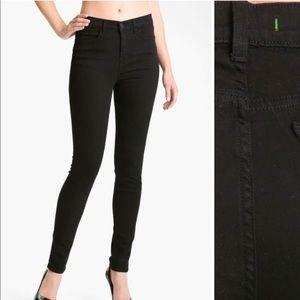 J Brand Black Skinny Maria High Rise Jeans!